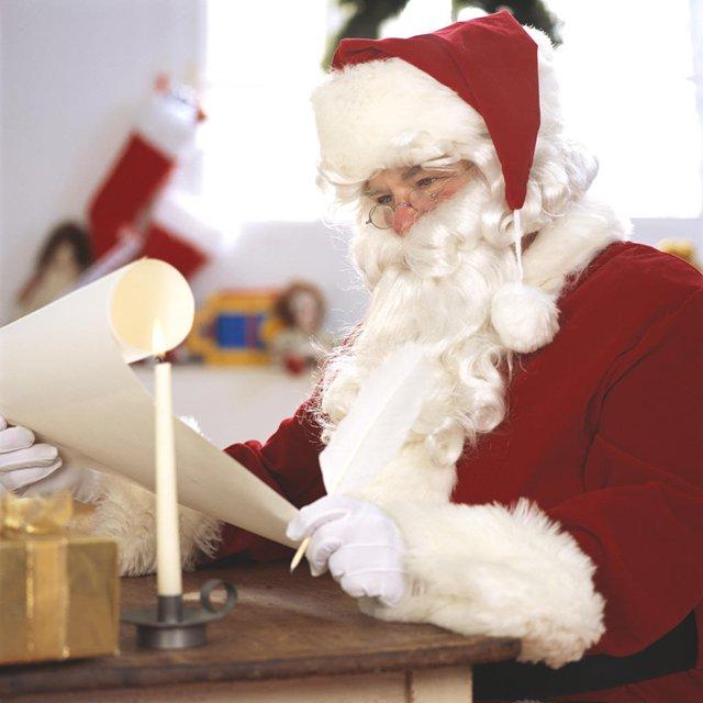Como escribir una carta a Papá Noel